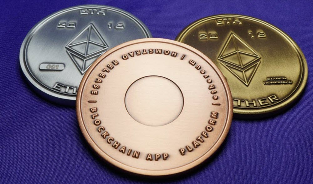 Ether coin